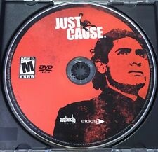 Just Cause (PC, 2006) DVD-ROM Disc Only No Key/Manual Game Avalanche Eidos