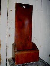 Antique 19th C PA Scrub Scouring Board Box Primitive Hearth Treenware AAFA