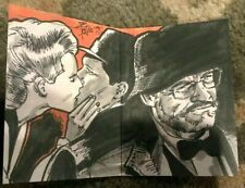 2008 Topps Indiana Jones Masterpieces Sketch Card Brian Kong RARE! SEAN CONNERY