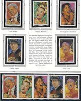 US MNH Forever Stamps - Scott # 4497 thru 4501 - Strip of 5 + Singles        (M)
