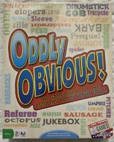 Oddly Obvious! Party Game Where Answers Are In Your Face By Endless Games Sealed
