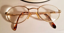 Vintage ALEX GOLD MATTE 135 FRAME ITALY BI-FOCAL GLASSES