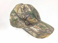 Bushcam Realtree Camouflage Peak Cap Army Style Hat Hunting Camping Hiking