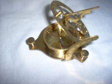 """Decorative brass compass, 3.25"""" across New wot #1 a"""