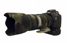 Canon 70 - 200mm f2.8 IS Mk1 Camouflage Neoprene lens protection cover: AP camo