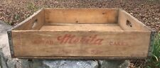 Vintage Merita Bread and Cake Wood Delivery Tray Anderson SC Bakery Flat 3-59