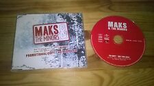 CD Indie Maks & the Minors-PR Copy (2) canzone PROMO MAT/Universal SC