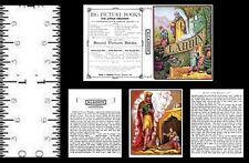 1:12 SCALE MINIATURE BOOK ALADDIN PRE 1900 DOLLHOUSE SCALE