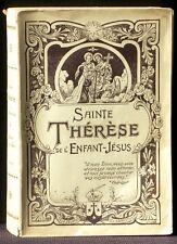 Sainte Thérèse de l'Enfant-Jésus Histoire d'une âme 1941 TBE