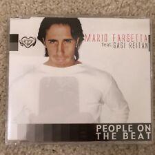 EURODANCE MAXI-CD SINGLE Mario Fargetta - People On The Beat CDM ITALY