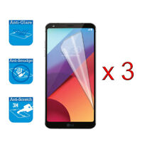 For LG G6 H870 Screen Protector Cover Guard LCD Film Foil x 3
