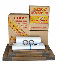 SMALL MOVING PACK - BOXES & PACKING MATERIALS (1-2 Bedrooms)