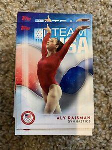 2016 Topps Team USA #64 Aly Raisman Olympics Gymnastics Card