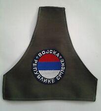 SERBIAN SRPSKA ARMY ARMBAND PATCH - REPUBLIKA SRPSKA,BOSNIA WAR