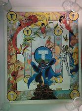 Vtg 1983 Teen Titans Dc Comics Cyborg Robin George Perez Promo Poster 23� X 18�