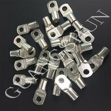 100PCS Cable Lugs Tinned CopperBattery Marine  Terminals Cable Wire10mm²-120mm²