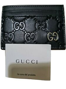 Gucci Guccissima Card Case / Card Holder - Brand New - 100% Authentic
