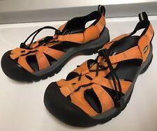Keen Orange Waterproof Canvas Elastic Toggle Outdoor Hiking Sandals 7 FAST SHOP!