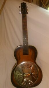 Vintage Unmarked Regal Other Acoustic Resonator Dobro Guitar Project!