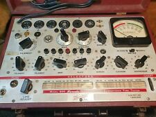 accurate Beautiful hickok 600 tube tester new capacitor.