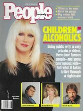 SUZANNE SOMERS April 18, 1988 PEOPLE WEEKLY Magazine Chuck Norris Louie Anderson