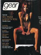Gear Magazine Aurora Robles Sonny Barger July/August 2000 031919nonr