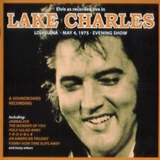 ELVIS PRESLEY AS RECORDED LIVE IN LAKE CHARLES ORIGINAL CD