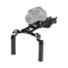 CAMVATE Pro Shoulder Mount Rig With Manfrotto QR Plate Rosette Handgrips for DV