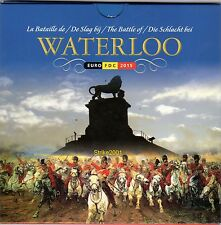 Euro BELGIO 2015 IN FOLDER UFFICIALE - 8 Monete fdc + 2,5 Euro Waterloo