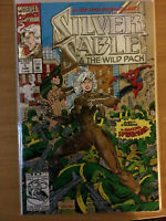 Silver Sable #1 (The Wild Pack) (Spiderman Appearance)
