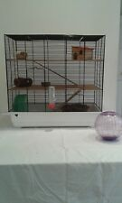 Extra large hamster rodent cage with accessories