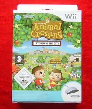 Animal Crossing Let´s go to the City Nintendo Wii Spiel + Speak, Neu deutsche V.