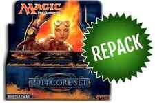 MAGIC 2014 M14 Booster Box Repack! 36 Opened MTG Packs In Box