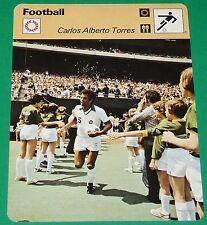 FOOTBALL CARLOS ALBERTO TORRES 1977 COSMOS NY FLUMINENSE SANTOS BRESIL BRASIL