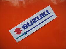 SUZUKI sticker/decal x2