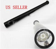 LED Cree Q5 Heavy Metal Long Baseball bat flashlight flash light Torch Security