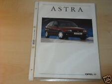 13124) Opel Astra españa folleto 199?