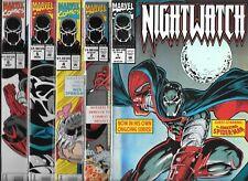 NIGHTWATCH LOT OF 9 - #1 #2 #4 #5 VENOM #6 VENOM #7 #8 #9 #10 (VF/NM)