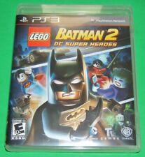 PS3 LEGO BATMAN 2 DC Super Heroes Video Game