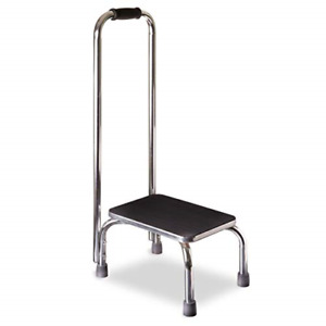 DMI Step Stool with Handle for Adults and Seniors Made of Heavy Duty Metal, up