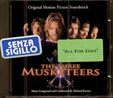 """THE ORIGINAL SOUNDTRACK """" THE THREE MUSKETEERS """" CD NUOVO 1993"""