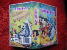 Walt Disney - The Jungle Book, original VHS Tape, rare, mint, D 211222 PAL/VHS
