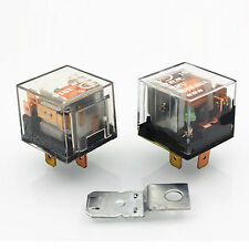 Mini Waterproof Automotive Relay 12V 80A 4pin SPST Car Control Device Car Relays
