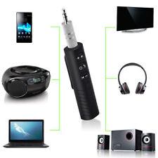 Universal 3.5mm jack Bluetooth Car Kit Handsfree Music Audio Receiver Adapter QU