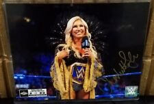 Charlotte 2018 WrestleMania 34 Exclusive Limited Edition Autograph #14 of 34