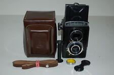Lomo Lubitel-2 Vintage Soviet TLR Medium Format Camera & Case. 091562. UK Sale