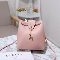 PU Handbag Fashion Women Leather Bag Travel Lady Backpack Girls Shoulder School