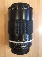 Nikon Micro-Nikkor 105mm 1:4 lens