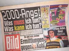 Bildzeitung vom 28.12.1999 * 17. 18. 19. 20. Geburtstag Geschenk  Silvester 2000