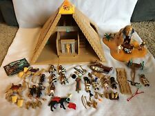 HUGE LOT Playmobil Egyptian Pyramid Play Set  #4240,4242,4245,4247+